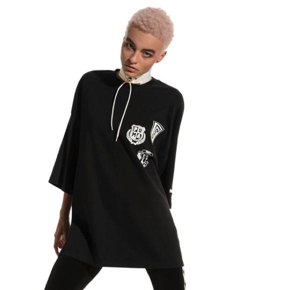 promo code 17cdc 31a52 Fenty Puma By Rihanna Short Sleeve Crew Neck NWT